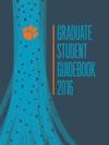 Graduate Student Guidebook 2016