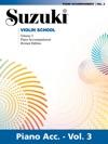 Suzuki Violin School - Volume 3