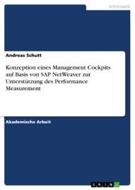 Konzeption eines Management Cockpits auf Basis von SAP NetWeaver zur Unterstützung des Performance Measurement - Andreas Schutt
