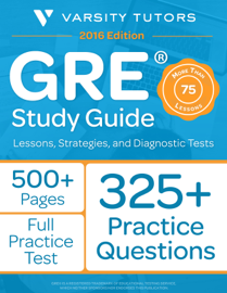 GRE Study Guide book