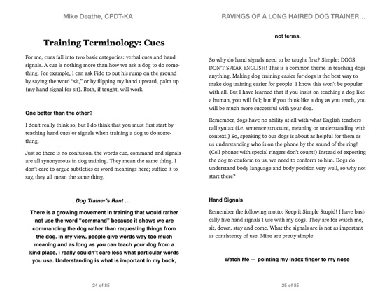 ‎Raving Of A Long Haired Dog Trainer…Volume 1