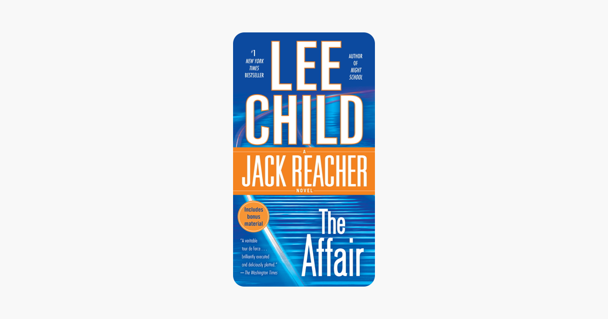 The Affair - Lee Child