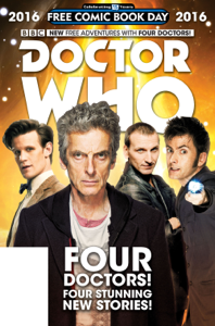 Doctor Who: Free Comic Book Day 2016 Comic Book Review