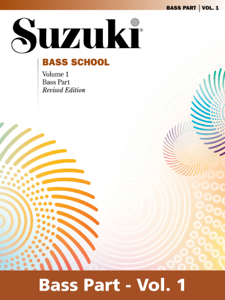 Suzuki Bass School - Volume 1 (Revised) Book Cover