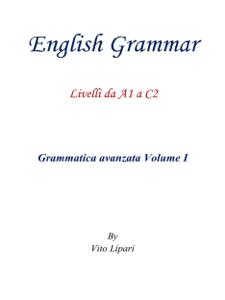 English Grammar Vol. 1 Copertina del libro