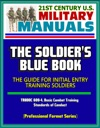 21st Century US Military Manuals The Soldiers Blue Book - The Guide For Initial Entry Training Soldiers TRADOC 600-4 Basic Combat Training Standards Of Conduct Professional Format Series