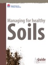 Managing For Healthy Soils