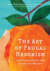 The Art of Frugal Hedonism La couverture du livre martien