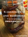 Swedish - 7 Quick And Easy Recipes