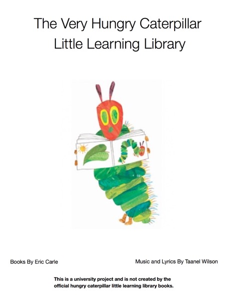 The Very Hungry Caterpillar Library Books 1.1