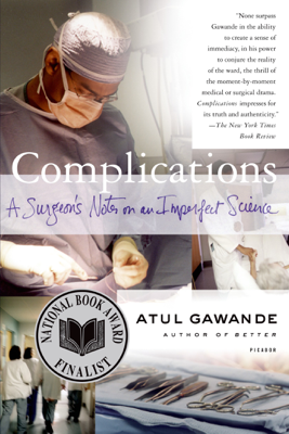 Complications - Atul Gawande book
