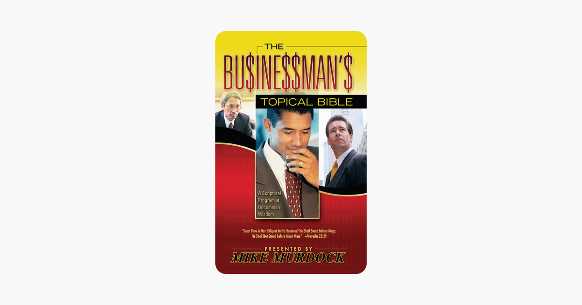 Get e-book The Businessmans Topical Bible