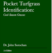 Pocket Turfgrass Identification: Cool-Season Grasses