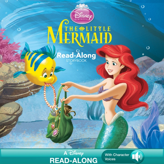 Disney princess the little mermaid read along storybook by disney disney princess the little mermaid read along storybook by disney book group on apple books altavistaventures Image collections