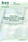 Selecting A Pharmaceutical Company From Northeast Asia For Investment