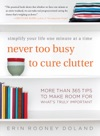 Never Too Busy To Cure Clutter