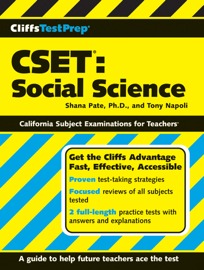 CliffsTestPrep CSET: Social Science