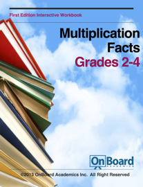 Multiplication Facts book