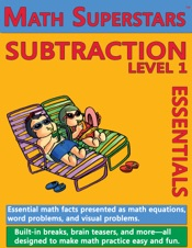 Download and Read Online Math Superstars Subtraction Level 1. Helps Children Learn to Subtract!