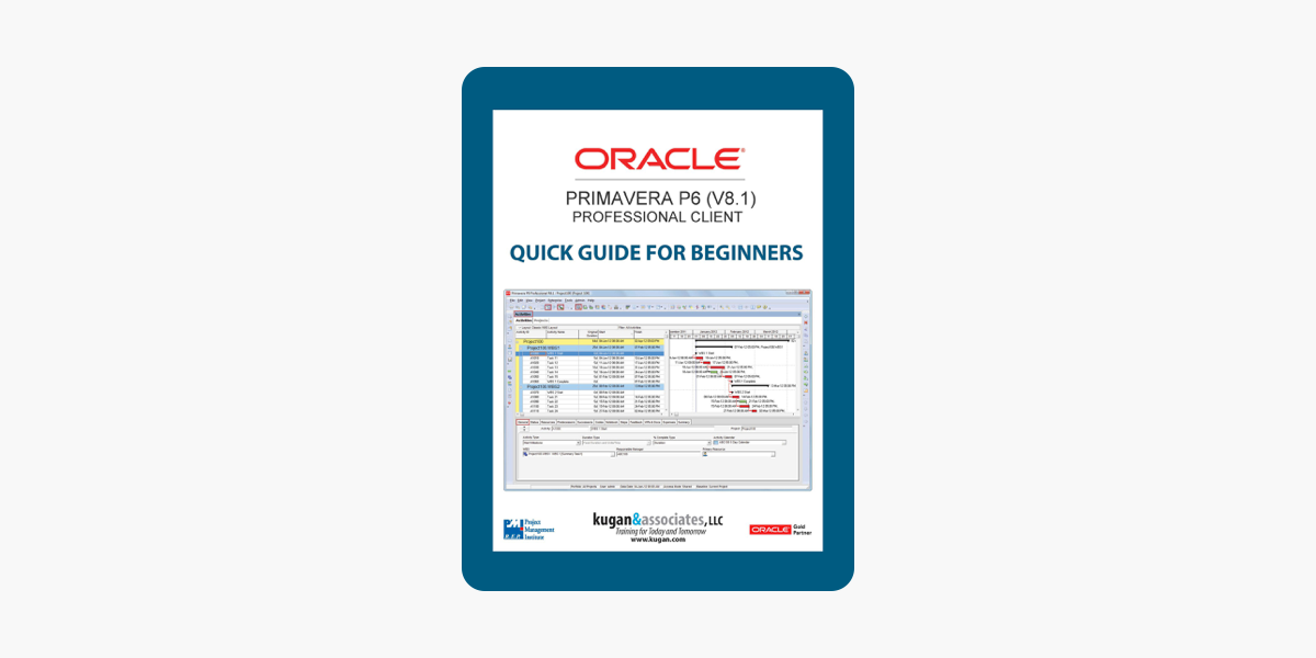 ‎Oracle Primavera P6 (V8 1) Professional Client Quick Guide for Beginners