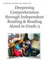 Deepening Comprehension Through Independent Reading  Reading Aloud In Grade 3