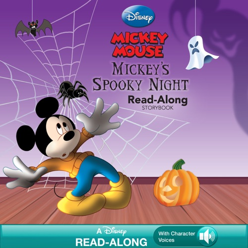 Disney Book Group - Mickey's Spooky Night Read-Along Storybook