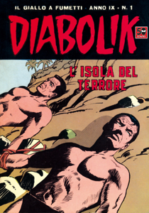 DIABOLIK (155) Copertina del libro