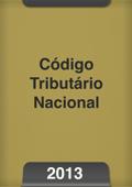 Código tributário nacional 2013 Book Cover
