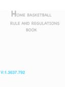 Home Basketball Rules!