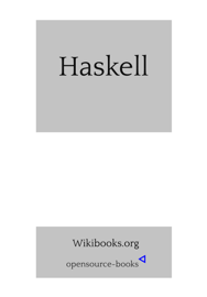Haskell book