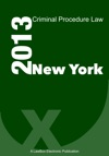 New York Criminal Procedure Law 2013