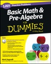 Basic Math And Pre-Algebra Or Dummies