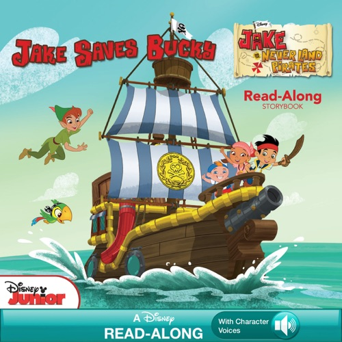 Disney Book Group & Bill Scollon - Jake and the Never Land Pirates Read-Along Storybook: Jake Saves Bucky