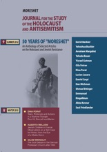 Moreshet - The Journal for the Study Journal of the Holocaust and Antisemitism