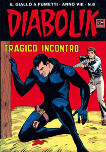 DIABOLIK (136) Copertina del libro