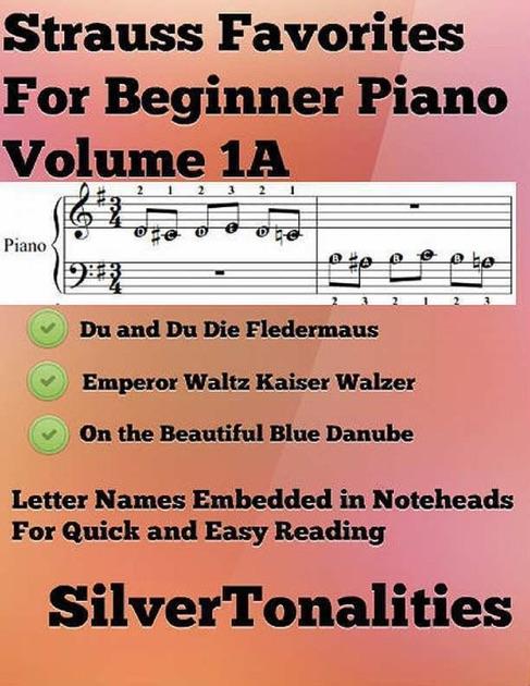 Strauss Favorites for Beginner Piano Volume 1 A by Johann Strauss on Apple  Books