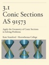 31 Conic Sections AS91573