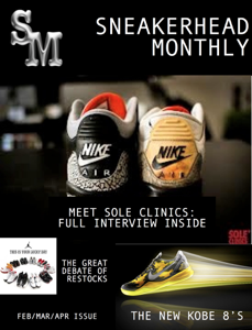 Sneakerhead Monthly Magazine Book Review