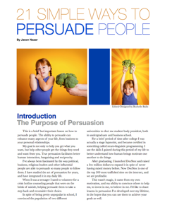 21 Simple Ways to Persuade People Book Review