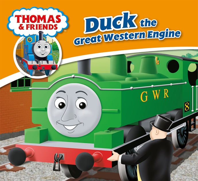 Thomas   Friends  Duck the Great Western Engine by Reverend W ... 90cdf3b07ff9
