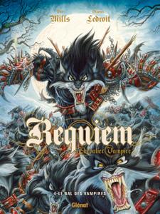 Requiem - Tome 04 La couverture du livre martien
