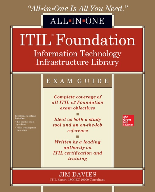 Itil Foundation All In One Exam Guide By Jim Davies On Apple Books