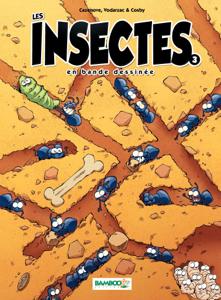 Les Insectes en BD La couverture du livre martien