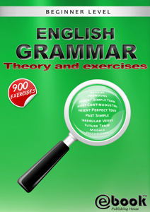 English Grammar: Theory and Exercises La couverture du livre martien