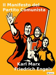 Il Manifesto del Partito Comunista Copertina del libro