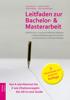 Hans Brunner, Dietmar Knitel, Paul Josef Resinger & Robert Mader - Leitfaden zur Bachelor- und Masterarbeit Grafik