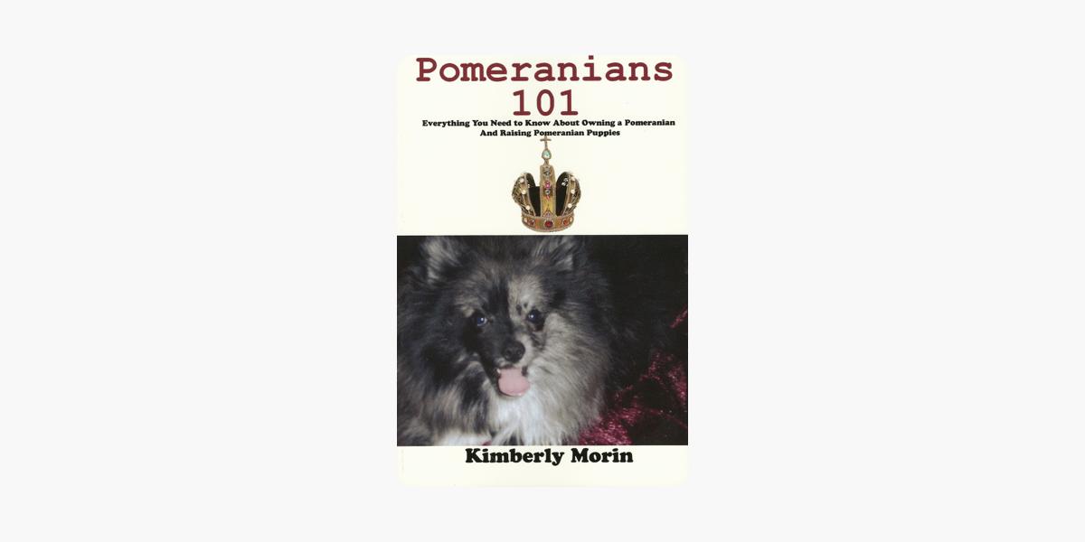 Pomeranians 101 On Apple Books