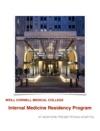 Weill Cornell Internal Medicine Residency