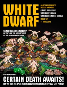 White Dwarf Issue 124: 11th June 2016 (Tablet Edition) Book Cover