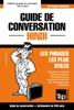 Guide De Conversation Français-Hindi Et Mini Dictionnaire De 250 Mots